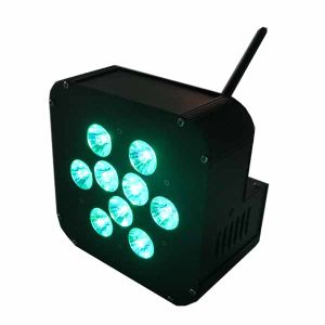 10W RGBA Battery Transmitter Built in Wedding Party Decoration
