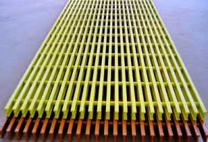 Bell Pultruded Fiberglass Grating with High Strength pictures & photos