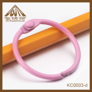 Fashion Nice Quality 1 Inch Metal Pink Binder Rings in Bulk pictures & photos