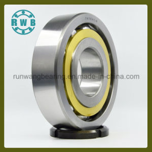Copper Has a Cage Single Row Angular Contact Bearings, Factory Production (7416ACM)