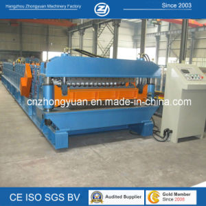 Popular Nigeria Double Layer Roll Forming Machine pictures & photos