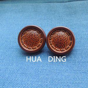 Fashion Design Hand Stitch Button for Garment (AF065) pictures & photos