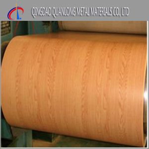 PPGI Color Coated Steel Coil with Wood Pattern pictures & photos