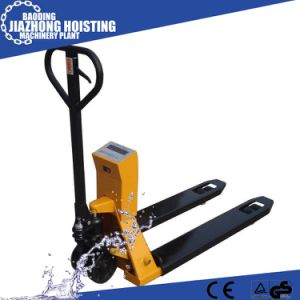 2500 Kg Scale Pallet Jack Manual Pallet Truck Hydraulic Pallet Truck with Scale