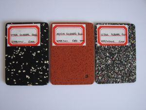 Granule Rubber Sheet, Rubber Sheets with All Kinds of Color pictures & photos