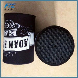 Neoprene Can Cooler Wholesaleprinted Stubby Holder with Bottom pictures & photos