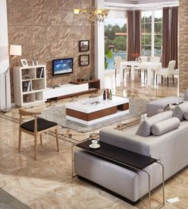 Modern Style TV Stand and Tea Table Set pictures & photos