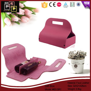 2016 Exquisite Bag Shape Double Wine Packing Holder pictures & photos