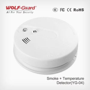 Personal Alarms Portable Multi Gas Detector Smoke and Heat Sensor Yg-04 pictures & photos