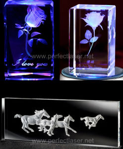 3D Photo Crystal Laser Engraving Machine on Hot Sale with Ce FDA ISO pictures & photos