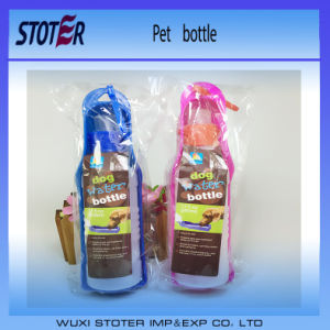 Portable Travel Outdoor Pet Dog Water Bottle pictures & photos
