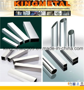 Welded Decorative Stainless Steel Pipe Tube 201 pictures & photos