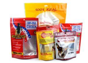 Aluminum Foil Plastic Zipper Bag for Pet Food Packaging pictures & photos