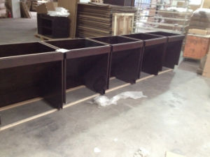 Maple Solid Wood Vanity Cabinets for Hotel Use pictures & photos