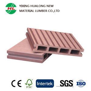 Hollow Composite Wood Deck Flooring for Outdoor (HLM35) pictures & photos