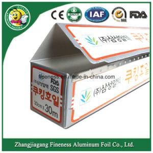 Aluminum Foil Household Foil Aluminum Alloy Aluminum Foil Roll pictures & photos