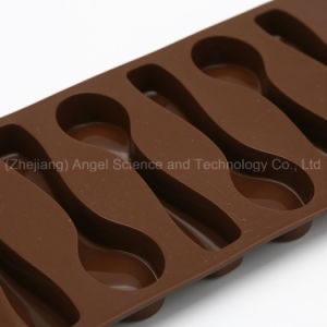 6-Spoon Silicone Chocolate Mold Ice Cube Tray with FDA Approved Si11 pictures & photos