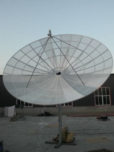 3.7m Aluminum C Band Satellite Dish Mesh Antenna pictures & photos