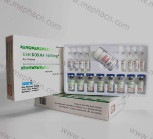 Gsh Doxma 1600mg* for Skin Lighting Glutathione Injection pictures & photos