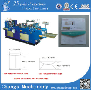 Zf Series Automatic Pocket/CD/Card/Gift Envelope Stuffing Machine at Home pictures & photos