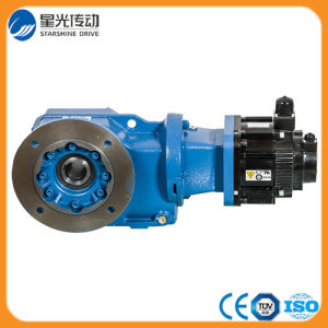 Helical Bevel Reduction 90 Degree Gearmotor pictures & photos