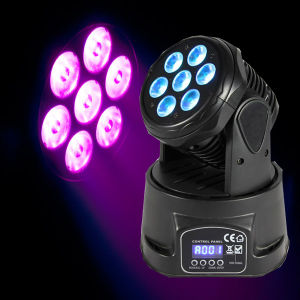 Mini Wash 10W RGBW Wash Moving Head Disco Lighting