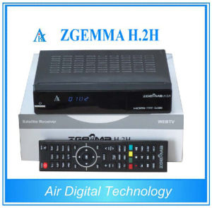 Terrestrial and Satellite Receiver Zgemma H. 2h DVB-S2 DVB-T2/C Suporting IPTV HD PVR SD Card pictures & photos