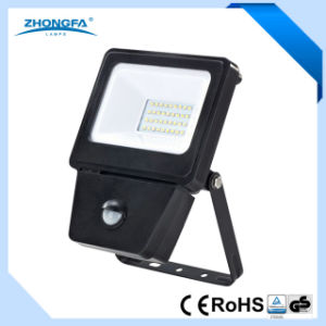 10W 20W 30W 50W LED Floodlight with Motion Sensor pictures & photos