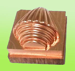 CNC Brass Mould for Silicone Promotion Product (DRX-0008)