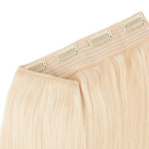 100% Human Hair Hollywood Volume Clip in Hair Piece Blonde Color pictures & photos