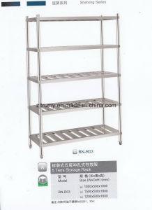 Premium Stainless Steel Kitchen Storage Rack pictures & photos
