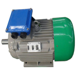 100kw 100rpm Low Speed Hydro Permanent Magnet Generator with Controller and Inverter System pictures & photos