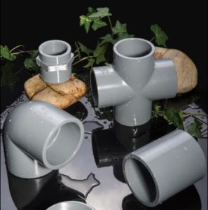 DIN/Sch40/Sch80 PVC Pipe and Fittings for Water Supply pictures & photos