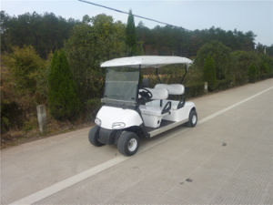 off Road Tyre 4 Wheel Electric Golf Cart with 4 Kw Motor pictures & photos