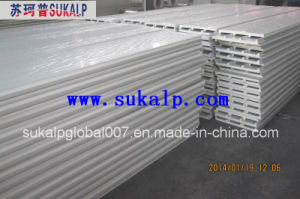 Polyurethane Sandwich Panel, PU Insulated Panels for Roof and Wall pictures & photos