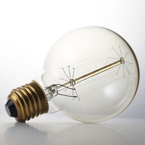25W 40W 60W E27 B22 Vintage Antique Decorative Clear Amber Mega Globe G80 G95 G125 Edison Bulb pictures & photos