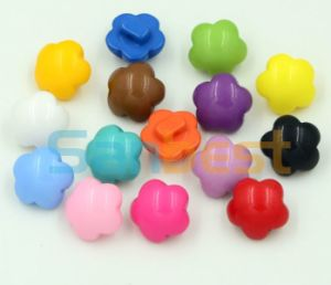 New Style 4-Holes Polyester Buttons for T-Shirts pictures & photos
