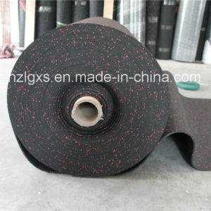 Gym Rubber Flooring Roll EPDM Dots Rubber Mats pictures & photos