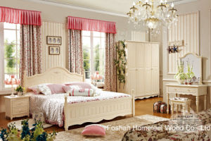 High Quality Classical Wooden Furniture Bedroom Set (HF-MG601) pictures & photos