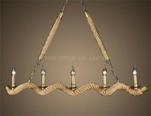 Interior Decorative Pendant Lamp with Rope pictures & photos