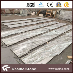 White/Green/Brown Fantasy Marble Tile for Floor/Wall/Countertop