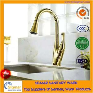 High Quality Europe Style Single Hand Brass Kitchen Faucet