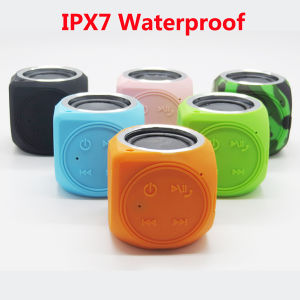 Dt-B660 New Arrival Ipx7 Waterproof Mini Bluetooth Speaker with Hands Free Call for Outdoor Actives pictures & photos