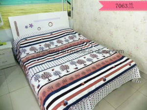 Cheap Price Brushed Microfiber Printed Polyester Bed Sheet Fabric pictures & photos