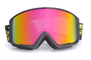 General Anti Fog Interchangeable Lens Prescription Goggles for Skiing pictures & photos