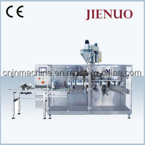 Jienuo Horizontal Pre-Made Bag Milk Powder Packing Machine pictures & photos