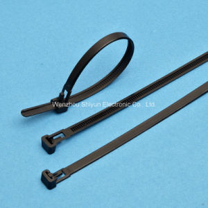 Releasable Nylon Cable Ties 12′′ White/ Black/Color pictures & photos