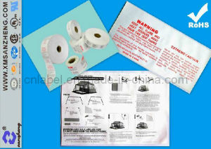 Washable Garment Label (SZ3104) pictures & photos
