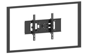 "TV Wall Mount Black or Silver Suggest Size 32-55"" Pl5040m pictures & photos"