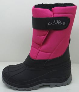 New Design Injection Shoes Snow Boots with Water Resistance (SNOW-190018) pictures & photos